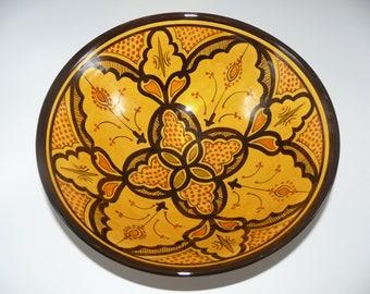 Moroccan Oriental ceramic dish bowl Fruit salad Cereal Ø 30 cm model Hilal