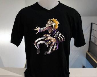 black print tee shirt digital film