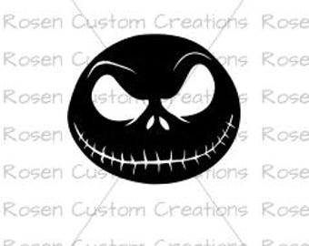 Jack Skellington svg. jack and sally. nightmare before christmas. halloween