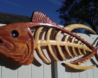 Skeleton tuna