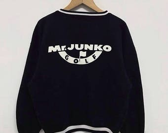 20% OFF Vintage Mr. Junko For Ladies Sweatshirt Big Logo Spellout Women Jacket Japan Designer Made In Japan / Junko Koshino Shirt sz M