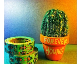 Forever Young knit succulent