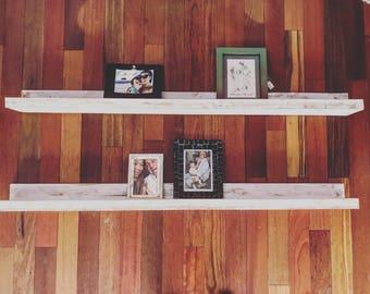 Farmhouse Picture Ledges