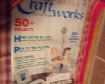 Craft Works for the Home Magazine Jan 87