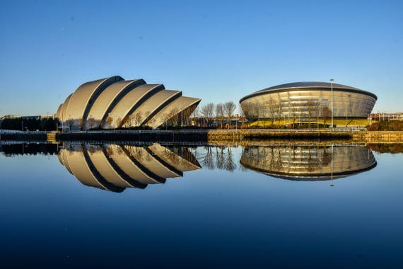 The Hydro, Glasgow print, glasgow photography, Scotland, wall art, wall decor, Scottish photography, modern landmarks, picture, photograph