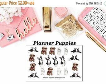 40% Off Sale Planner Puppies//EC//Hp classic, large mini