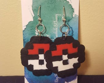 Earrings - Perlers - Pokemon