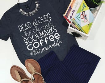 Librarian Life Tee