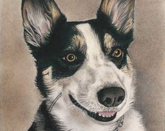 People or Pets - Custom portrait painting from your photo with soft pastels