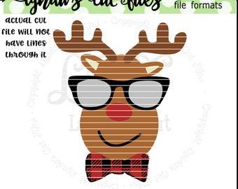 Boy Reindeer//Winter//Christmas//SVG/EPS//DXF file