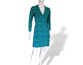 Diane Von Furstenberg Silk Jersey vintage Wrap Dress