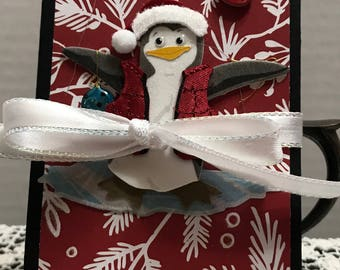 Penguin Christmas Mini
