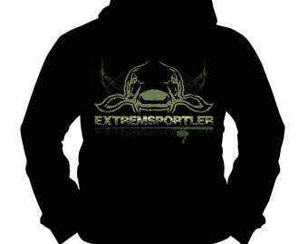 Extreme Athlete Carp 2 | Carp | Catfish | Fishing Fishing | Hoodie | S-XXL