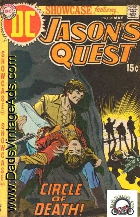 1970 May DC Comics - Showcase Featuring Jason's Quest #90 - Item #mb140