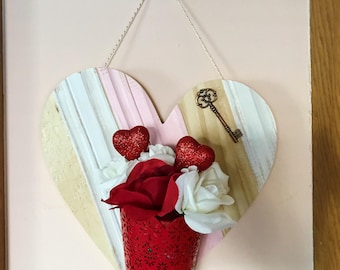 Valentines Day Decor | Valentines Decor | Valentines Day | Heart Sign | Wood Heart | Heart Wall Hanger | Valentines Wood Sign
