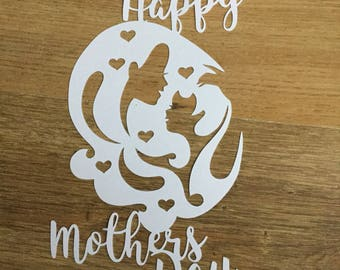 Mother's Day, papercut, gift for mam, Mother's Day gift, gift for her, mam gift, gift for mam, Mother's Day papercut, hand cut, gift idea