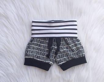 Baby Boy Shorts / Toddler Boy Shorts / Gender Neutral Baby Gift / Toddler Girl Shorts /Baby Girl Shorts / Baby Shower Gift