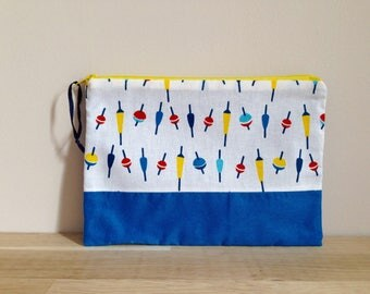 Wallet or pouch fabrics, seaside series