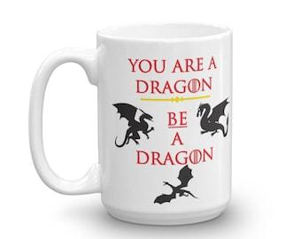 Khaleesi Mug - Mother of Dragons Mug - Game of Thrones Mug - Game of Thrones Gift - Gift for Her - Gift for Coworker - Gift for GoT Fan