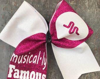 Musically Cheer bow