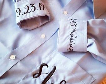 Wedding party shirts