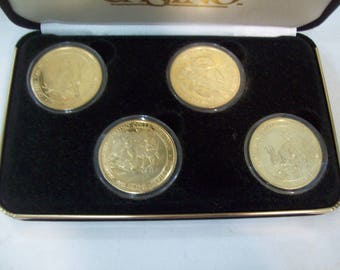 1997 GRAND CASINO Wildlife Series III Limited Edition 4 Coin Collector Set Free Shipping