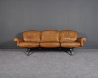 Swiss DS 31 Three Seater Sofa from De Sede, 1970s
