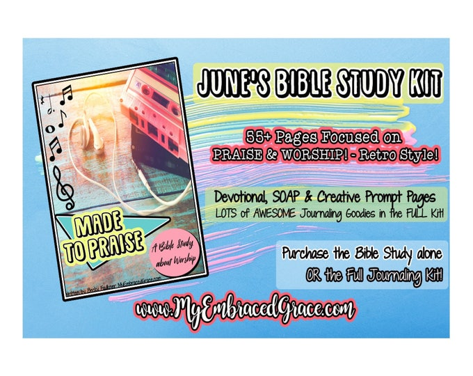 Featured listing image: June's Bible Study - Made To Praise!