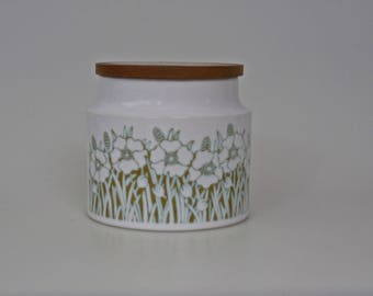 Hornsea 1970's Fleur Small  Canister- Storage Jar
