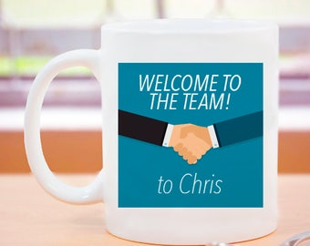Welcome to the Team Personalized Mug