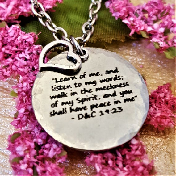 2018 Young Women Mutual Theme, Gifts for LDS Young Women, LDS Charm Necklace, YW Theme 2018, Gift Young Women Leaders, New Beginnings Ideas