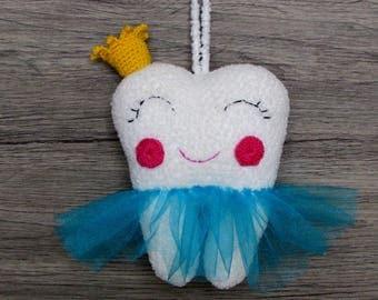 Tooth Fairy, Tooth Fairy Pillow,  Tooth Fairy toy, tooth pillow, crochet Tooth Fairy, Tooth Fairy toy