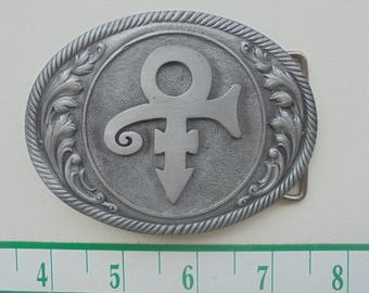 """New PRINCE belt buckle 3.25"""" by 2.5"""""""