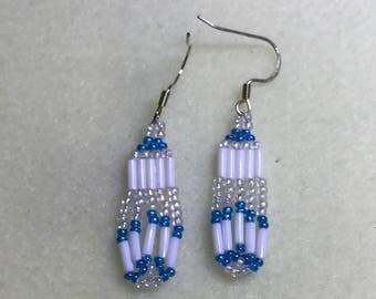 Beaded earrings simple elegance
