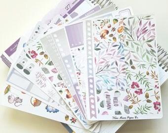 Planner Stickers - Hello Autumn