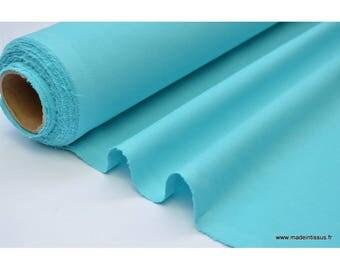 Cretona de tela turquesa de algodón 50 cm