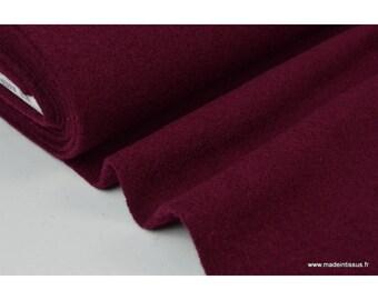 BORDEAUX .x1m BOILED wool
