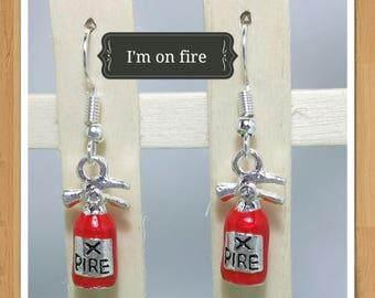 FIRE HYDRANT EARRINGS