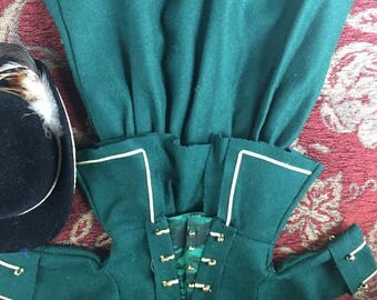 """American Girl """"Felicity's Riding Coat and Hat"""" Very Nice, Excellent Condition!"""