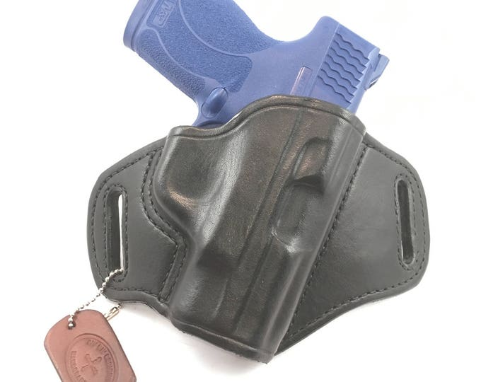 S & W MP Shield .45 * Ready to Ship* - Handcrafted Leather Pistol Holster