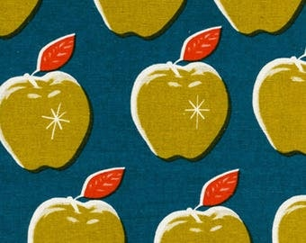 SALE Canvas from Cotton + Steel - Picnic by Melody Miller Apples 0025-12