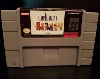 Final Fantasy IV 4 FF4 FFIV Custom English Super Nintendo SNES