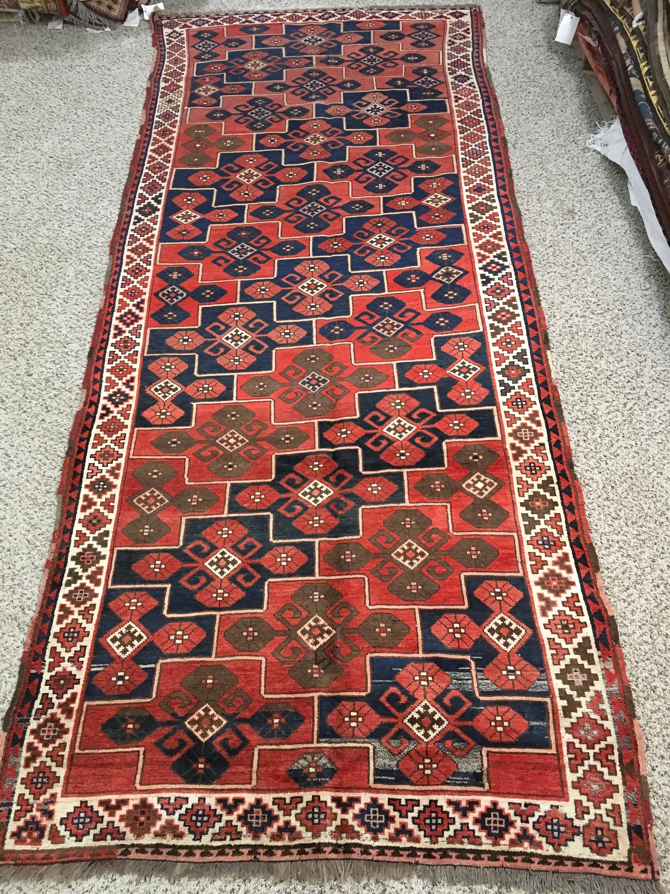 vintage russia antq ghordz rug 100 handmade floor carpets sale for home - Carpets For Sale