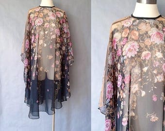20% off using coupon! Vintage floral shawl one size fits all