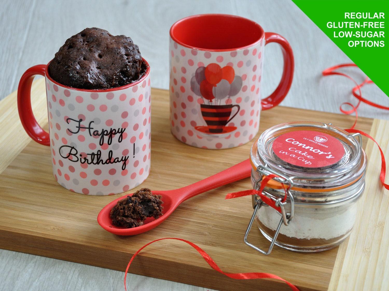 Baking Kit, Happy birthday, mug cake kit, birthday for him ...