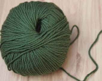 Colors available, 100% Merino Wool, yarn ball of 50 g ball of wool, yarn, extra soft natural fiber