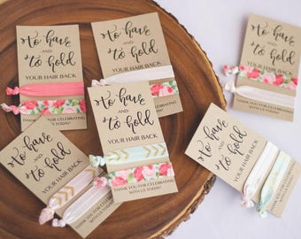To have and to hold your hair back | Bridesmaid  Gift | Wedding Favor