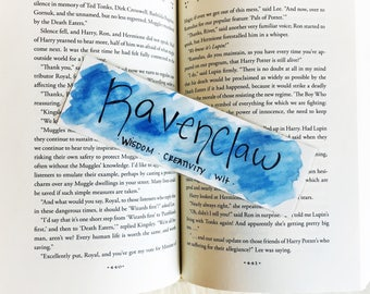 Ravenclaw Inspired Bookmark