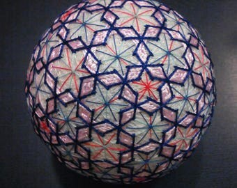 Temari Ball  Japanese Ball Handmade Gift Decor