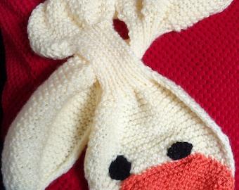 Novelty Child's Duck Scarf/Neck Warmer